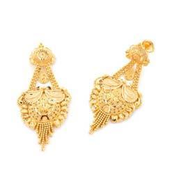 Cost Of Gold Earrings In India Prices Indian Diwali Holiday