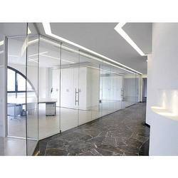 12 mm toughed Transparent Glass Partition