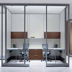 Office Interior  Office Partition Panels Retailer from Delhi