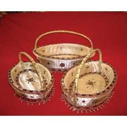 Handle Basket Set of 3 Small
