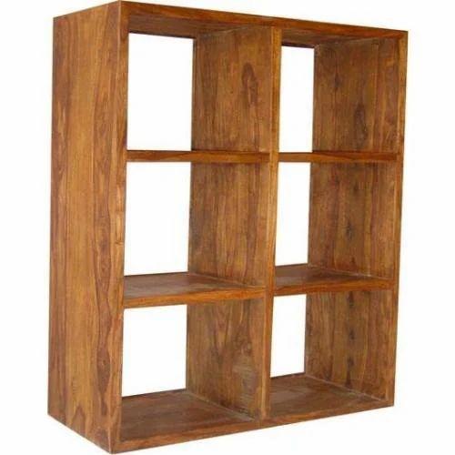 Cube Wood Furniture Display Cabinet