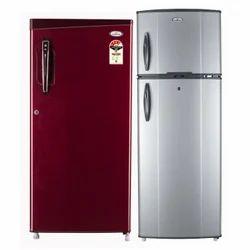 Metal Home Refrigerator, Double Door, Top Freezer