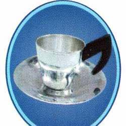 Sliver Cup Plate