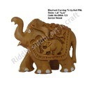 Elephant Carving Tr-Up Nail Fitt