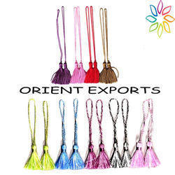 BY FLUKE Tassel Bookmark Tassels, Packaging Type: Hang Card, Size: 3 Cm