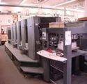 Old Web Off Set Rebuild Printing Machine