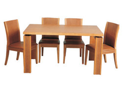 Magnum Dining Table With Lux Chairs