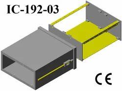Plastic Electrical Enclosure Din 96x192x200