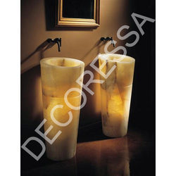 Conical Onyx Basins