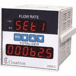 Digital Flow Rate Indicator Cum Totalizer