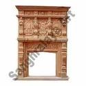 Marble Handicraft Fireplace
