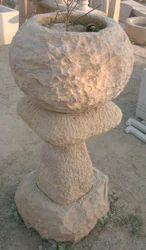 Designer Stone Flower Pot