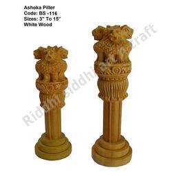 Sandalwood Ashoka Pillar