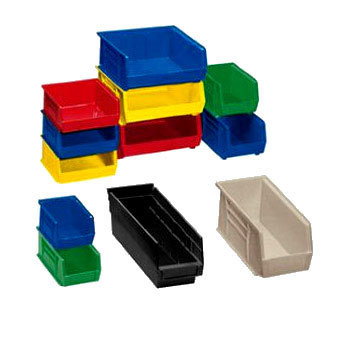 Plastic Industrial Storage Bin Storage Bins, Size: 300*210 ...