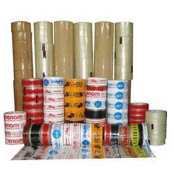 Self Adhesive Plain BOPP Tapes(Transparent,Brown & Colored)