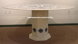Marble Dining Table Stands