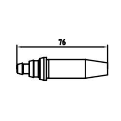 ANM Short Pattern Cutting Nozzles