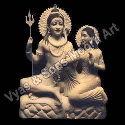Marble Gauri Shankar Statues