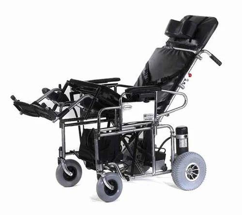 Power Wheelchair Reclining And Tilt In Space Wheelchair