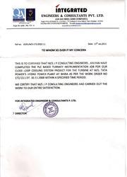 Appraisal Certificate