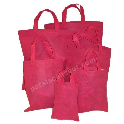 Non Woven Grocery Bag With PP Non Woven Handle (1720)