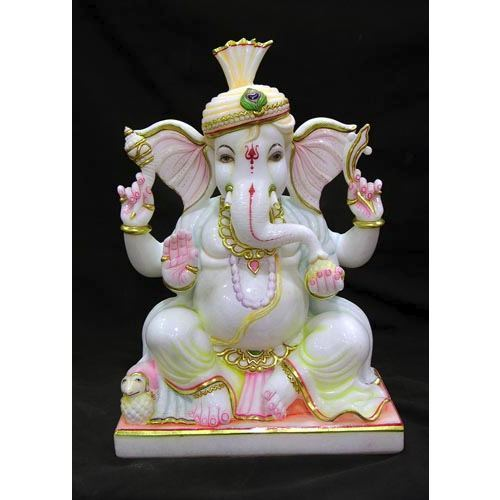 Ganesha Marble Statue Packaging Type Wooden Box Rs 24000 Piece