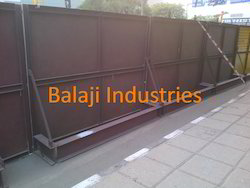 Road Side Barricades Board
