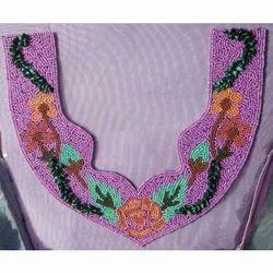 Hand Embroidered Necklines -SN10001
