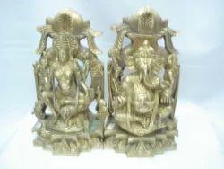 Kalash Laxmi Ganesh Ji Brass