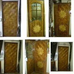 Multicolor Wooden Parquet Doors