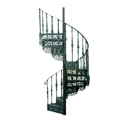 Captivating Victorian Spiral Staircase   Camberley