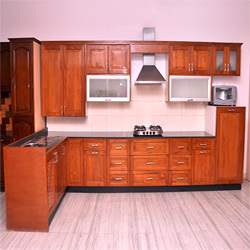 Inspirational Teak Wood Kitchen Cabinets
