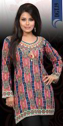 Cotton Digital Printed Kurtis
