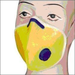 Washable Mask Yellow With Valve