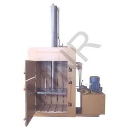 Mild Steel Hydraulic Single Box Baling Press Machine