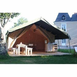 PVC Fabric Jungle Safari Tents