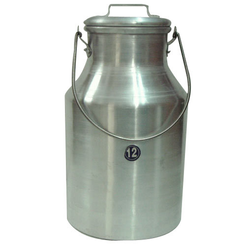 Milk Can With Wire Handle