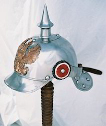 Pickelhaube In Steel