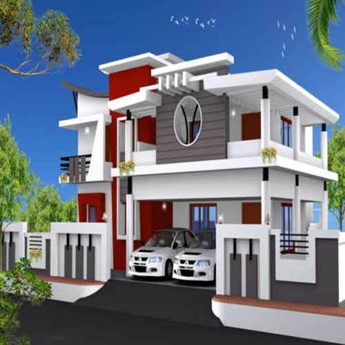 Double Story Bungalow Construction Services In Rathna Puri