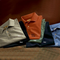 Mercerized T-Shirts For Golfers