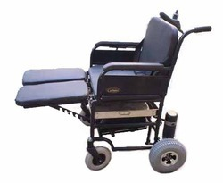 Elevating Foot Rest Motorized Wheel Chair