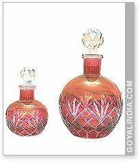 Round Matci Glass Bottle