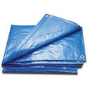 Blue Woven Eco Friendly Tarpaulin, Size: 2mtr X 3mtr To 25mtr X 25 Mtr