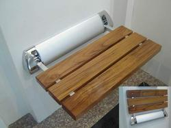 Shower Seats - Shower Wooden Folding Seat Model No 1551 Manufacturer from  Pune