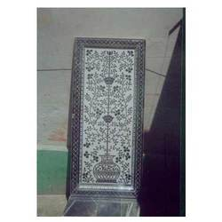 Glass Inlay Thikri Work Decorative Panel, Size: 6 x 3.5 feet
