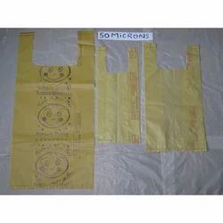 50 Micron Carry Bag Plastic