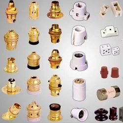 Brass Lamp Holders, Packaging Type: Box