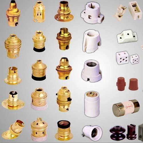 Brass Lamp Holders Brass Electrical Lamp Holder Exporter