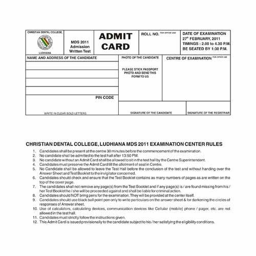 Mark Sheet & Certificates - Admit Cards for School and