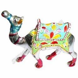 Metal Meenakari Painted Camel Katihar